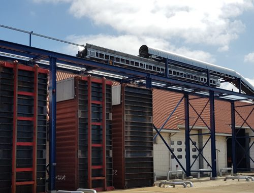 Container vulsysteem