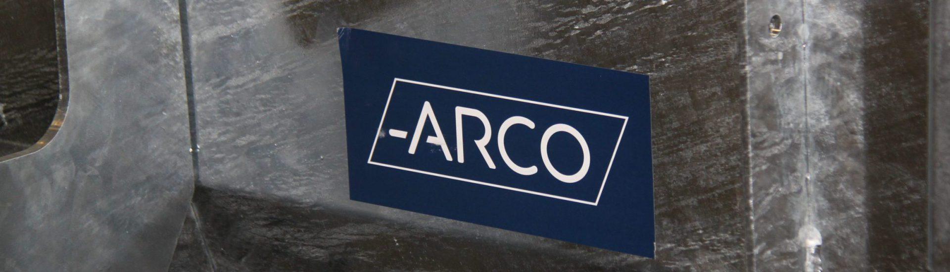 ARCO logo uiting