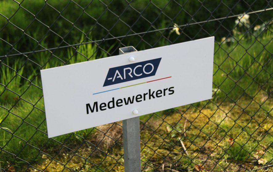 Bordje medewerkers ARCO