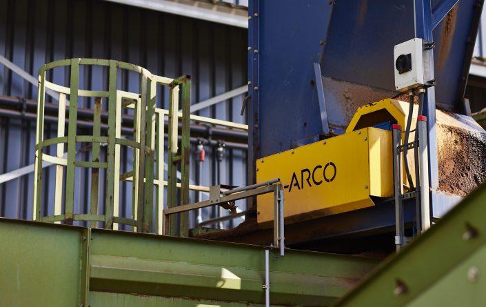 ARCO logo uiting.
