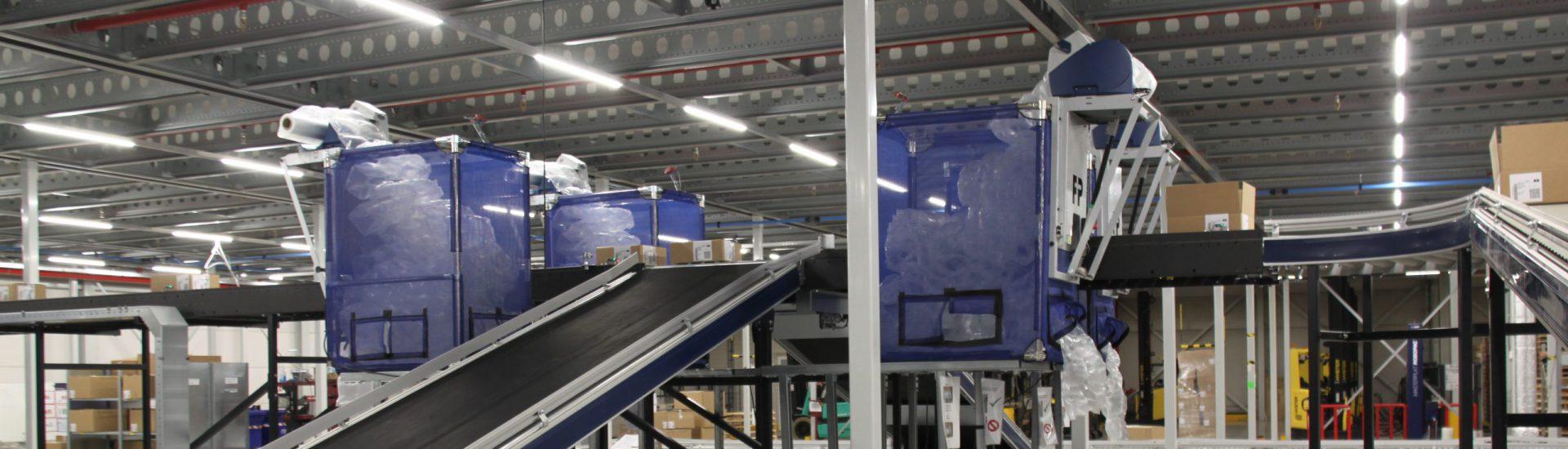 Verpakken logistiek
