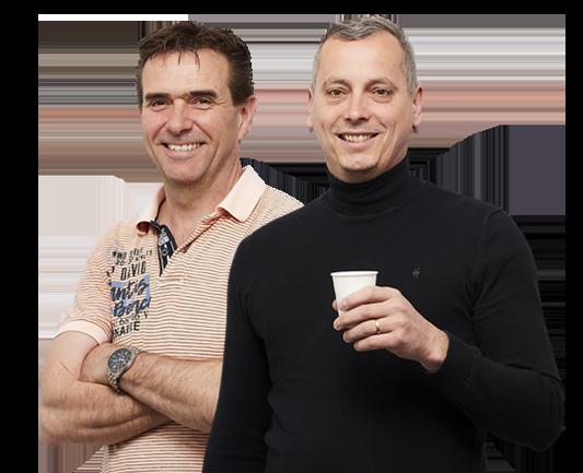 Paul en Eric