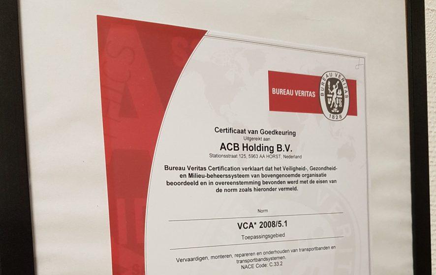 VCA 2008/5.1 certificering