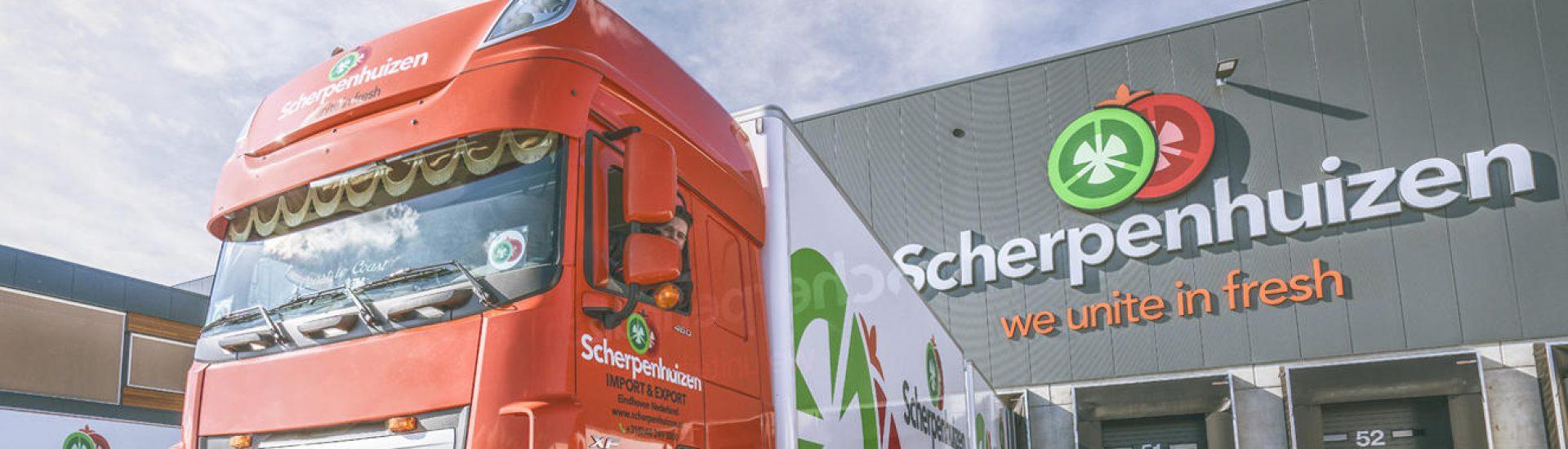 Vrachtwagen Scherpenhuizen