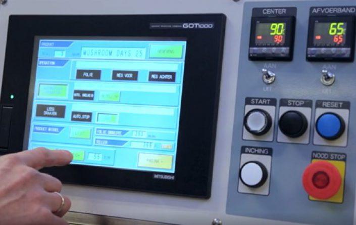 touch screen topsealer